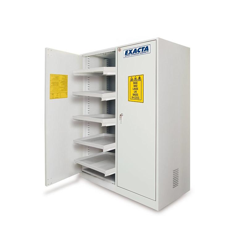 Armoire pour produits chimiques à étagères coulissantes ECO12E