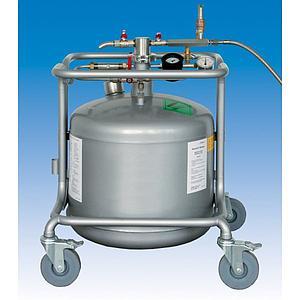 Autofill avec récipient de LN2 et valve de sécurité - 50 litres - Retsch