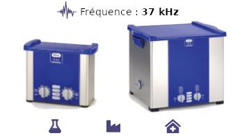 Nettoyeur ultrasons professionnel Elma Elmasonic S