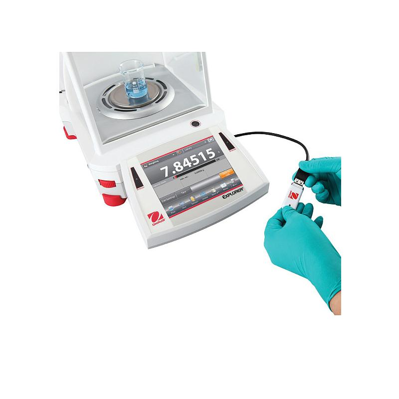 Balance analytique Explorer Semi-Micro EX225DM/AD - Portes automatiques et ionisateur - Métrologie légale - Ohaus