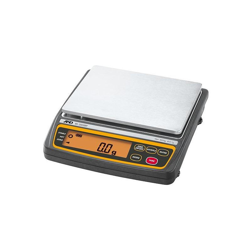 Balance ATEX EK-3000AEP - 3000 g - Codemes