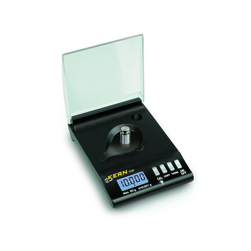 Balance portable : balance à carats de poche TAB 20-3 - Kern