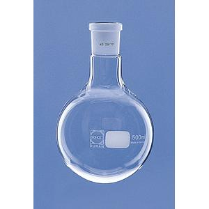 Ballon col rodé 29/32 en verre Duran - 100 ml - Lot de 10 - Lenz