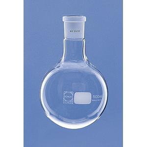 Ballon col rodé 29/32 en verre Duran - 500 ml - Lot de 10 - Lenz