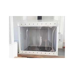 Bandeau à lanière en PVC souple transparent, L900 x H800 mm