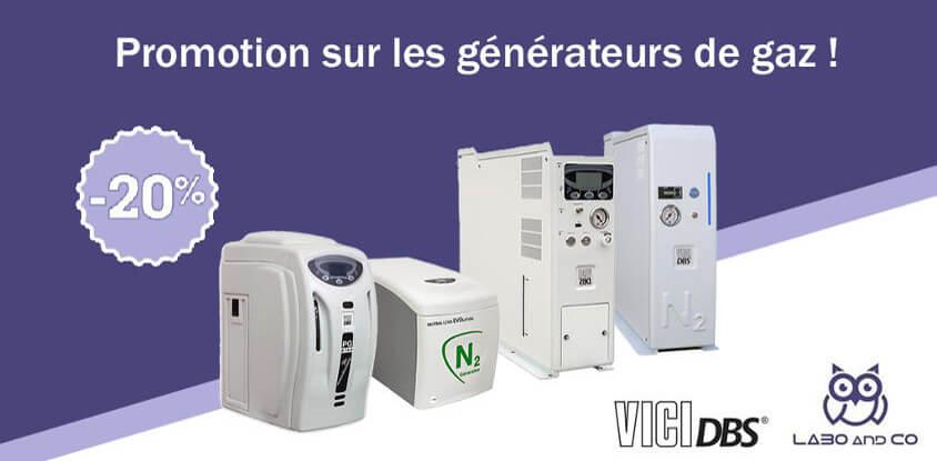 Promotion générateur de gaz