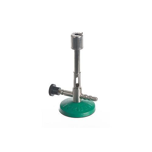 Bec bunsen avec robinet à pointeau DIN 30665 - gaz naturel