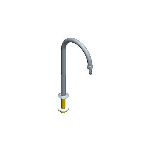 Bec col de cygne fixe pour bénitier A = 150 mm