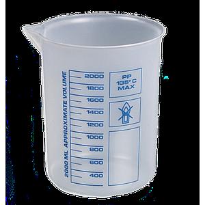 Bécher forme basse en PP - 3000 ml - Bürkle