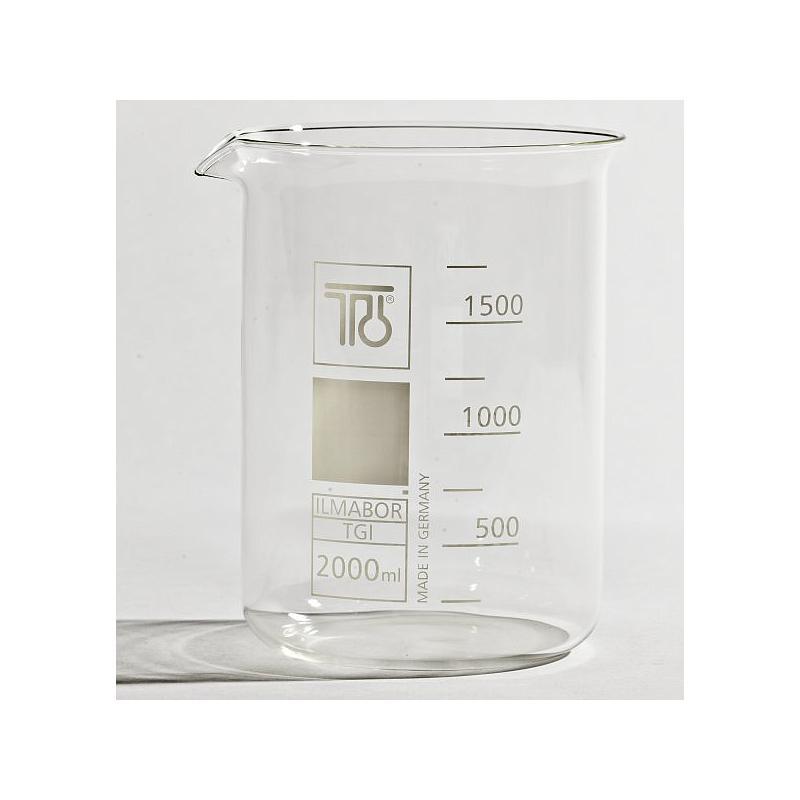 Bécher forme basse en verre - 2000 ml - TGI