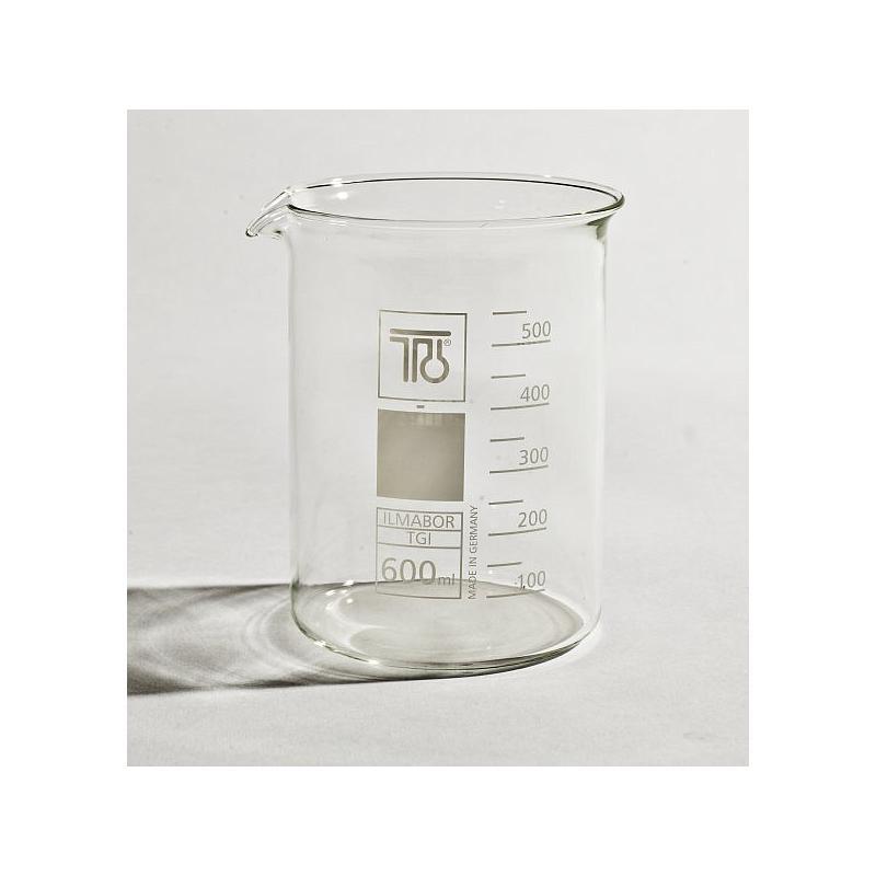 Bécher forme basse en verre - 600 ml - TGI