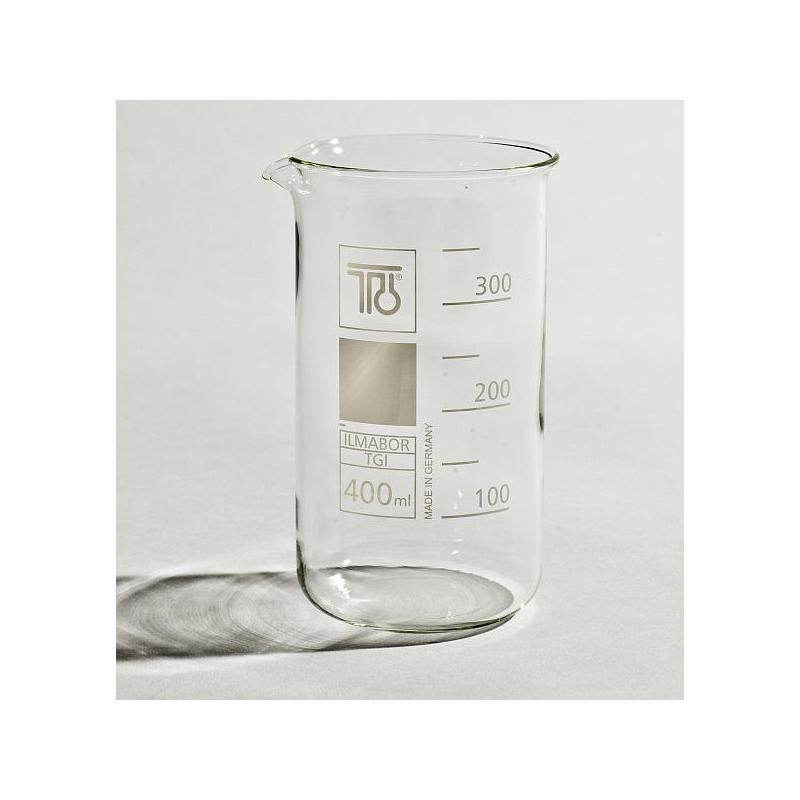 Bécher forme haute en verre - 400 ml - TGI
