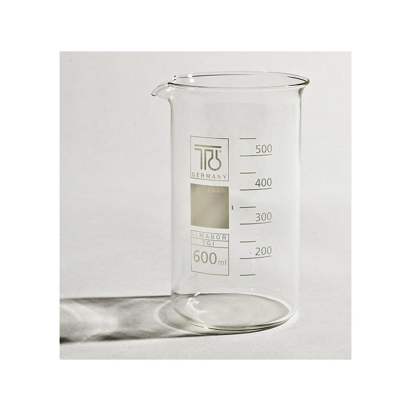 Bécher forme haute en verre - 600 ml - TGI