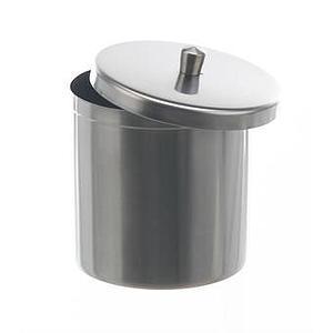 Bécher inox avec couvercle 100 ml