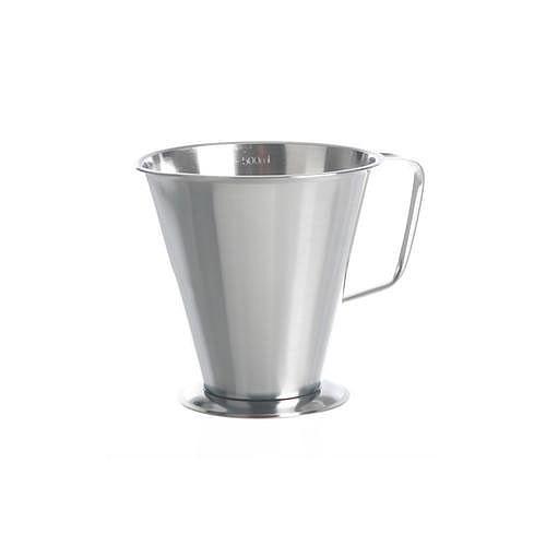 Bécher inox gradué - forme conique - 1500 ml