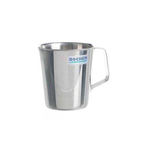 Bécher inox gradué - forme conique - 500 ml