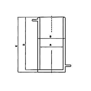 Bécher thermostatable en inox - 2000 ml - KGW