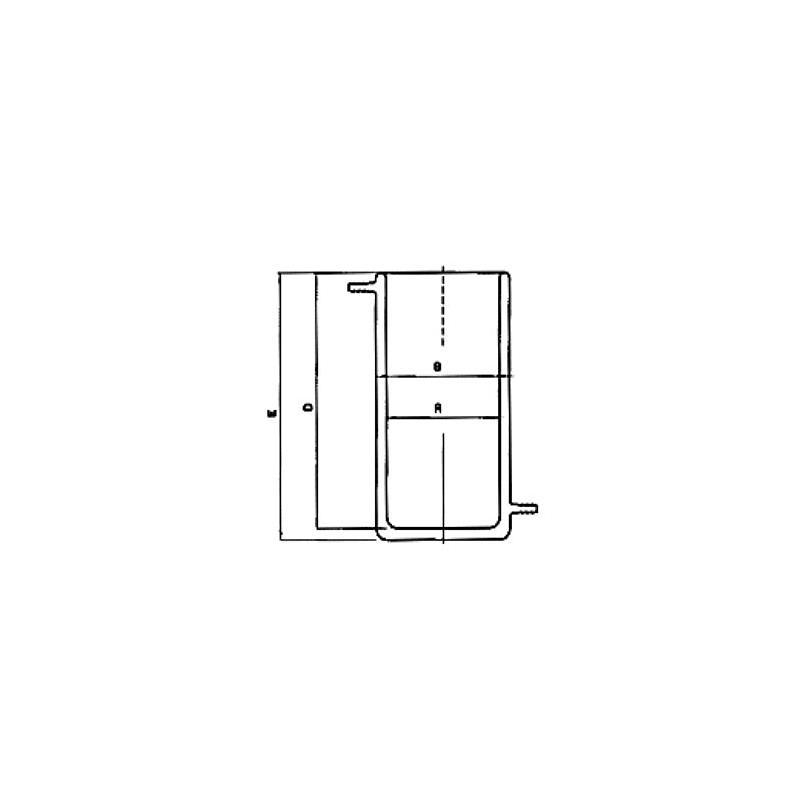 Bécher thermostatable en verre - Haute température - 2000 ml - KGW