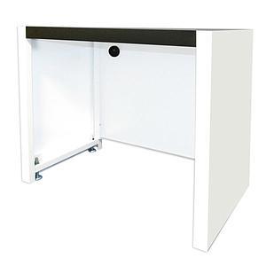 Benchcap meuble de support fixe pour hotte à filtration Captair 391 Smart - Erlab