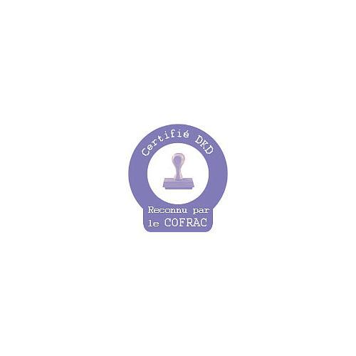 BIN-8012-0154 - Certificat d'étalonnage pour température et humidité - Binder