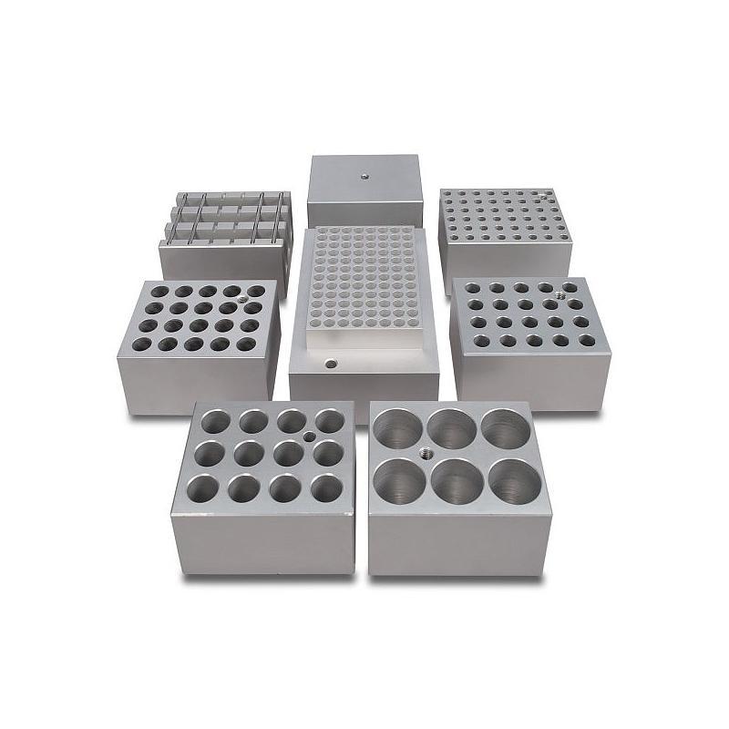 Bloc aluminium 4 tubes de 30 mm pour bains à sec - Stuart