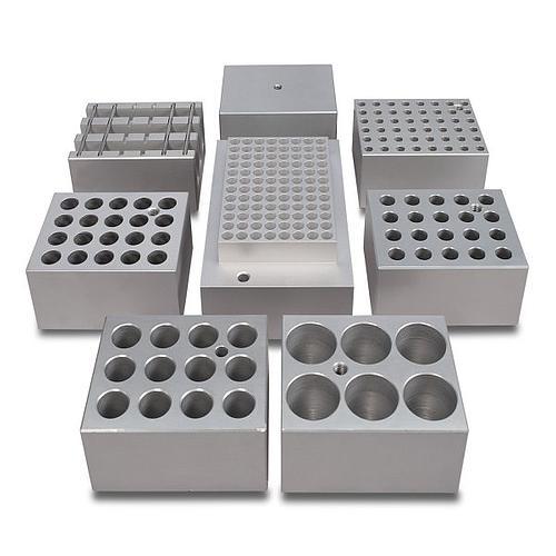 Bloc aluminium 6 tubes de 28 mm pour bains à sec - Stuart