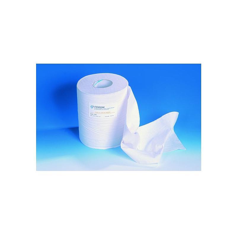 Bobine d'essuyage - Ouate standard écrue - 250 x 300 mm - 1000 formats - Fioroni