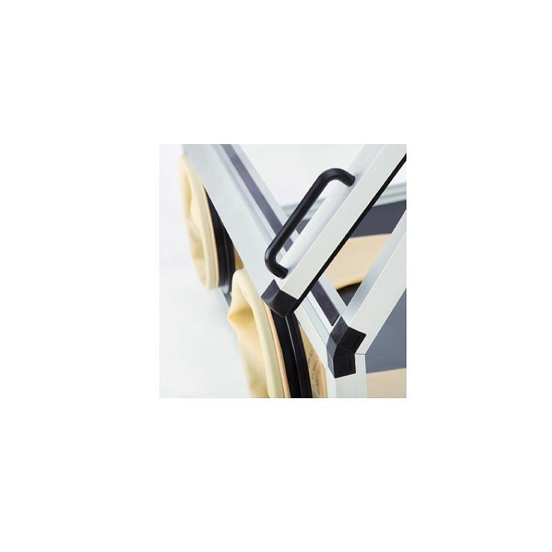 Boite à gants PMMA avec chambre de transfert - Sicco