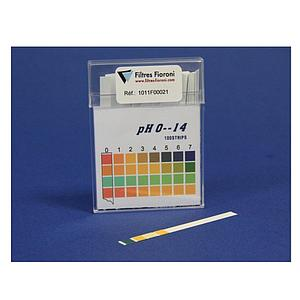 Boite de 100 bandelettes pH 0-14