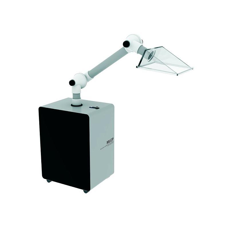 Bras d'aspiration mobile a filtration MLCP-S - Tête carrée