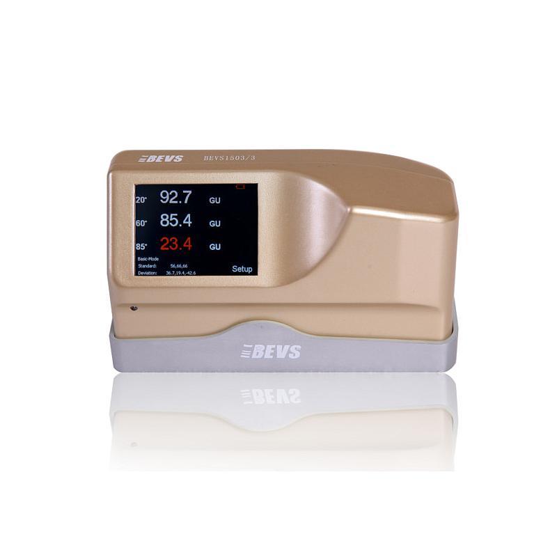Brillancemètre intelligent tri-angle - Surfaces peu/assez/très brillantes - 0.0-2000 GU