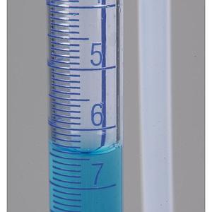 Burette de titrage avec protection contre les éclats - 15 ml - Bürkle