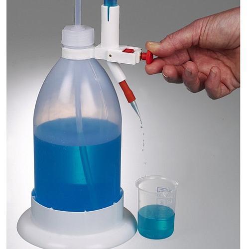 Burette de titrage avec protection contre les éclats - 25 ml - Bürkle
