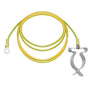 Câble de mise à la terre avec raccord à bague, L.3000 mm