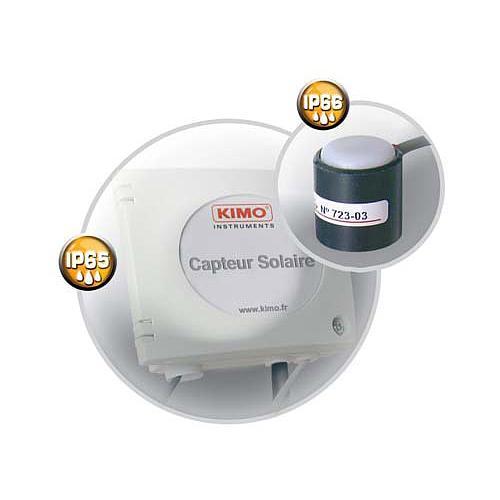 Capteur de rayonnement solaire global CR100 - Kimo