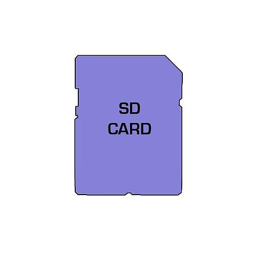 Carte SDHC 4 Go - Testo