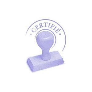 Certificat d'étalonnage 3 points - KIMO