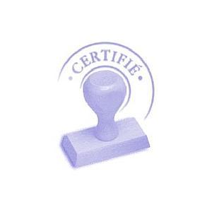 Certificat d'étalonnage COFRAC en température 60 / 120°C