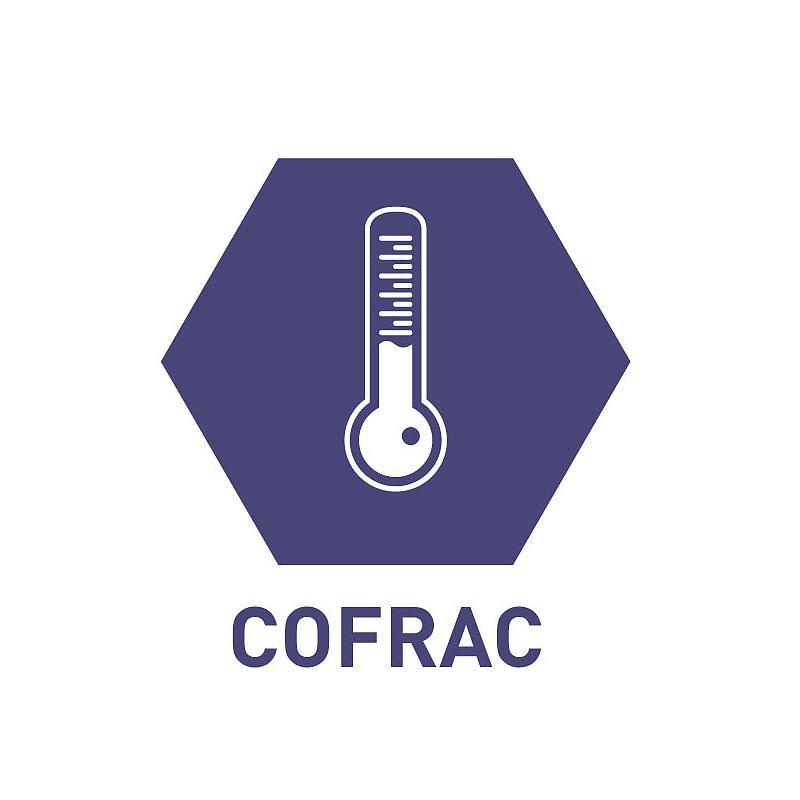 Certificat d'étalonnage en température COFRAC standard - TIS