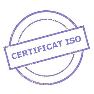 Certificat d'étalonnage ISO - Kern