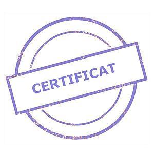 Certificat d'étalonnage usine (Traction) - Sauter