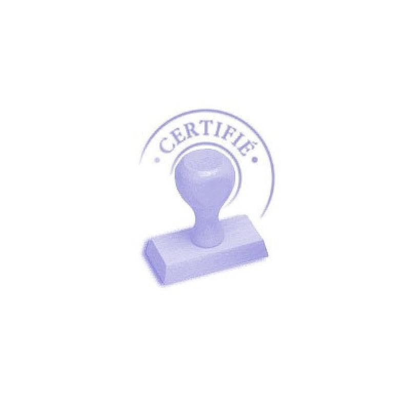 Certificat de calibrage agréé UCAS Angleterre - Adam
