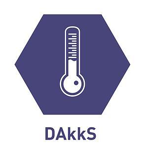 Certificat d'étalonnage en température de contact DAkkS standard - TIS
