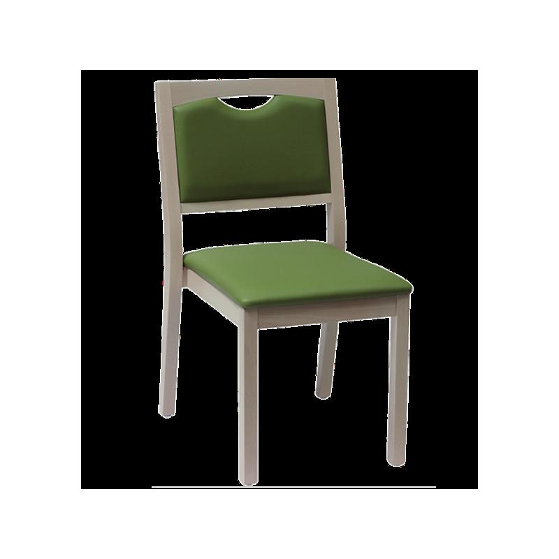 Chaise Relax en bois, couleur lilas - Kango