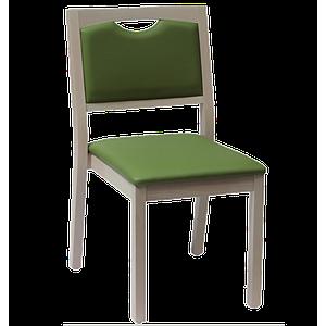 Chaise Relax en bois, couleur souris - Kango