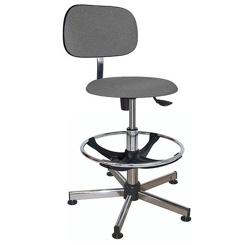 Chaise vinyle éco à patins - Kango