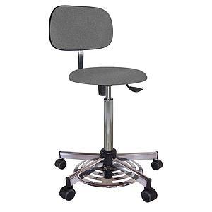 Chaise vinyle éco à roulettes - Kango