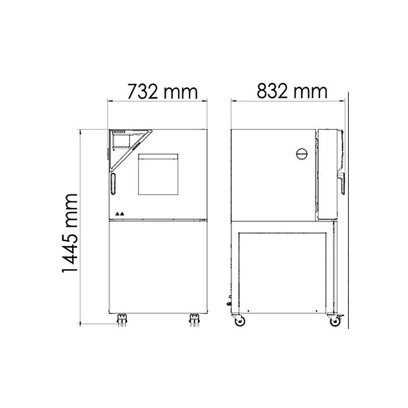 Chambre de test  MKF 56 - Binder