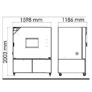 Chambre de test MKT 720 - Binder