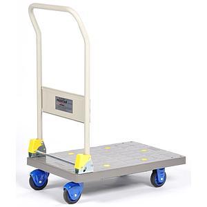 Chariot à dossier rabattable en polypropylène - PR-PB-101C-P - 150 kg